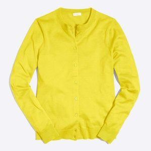 J. Crew Cotton Caryn cardigan sweater NEW   i19xx
